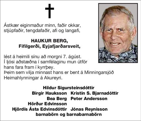 Haukur Berg,