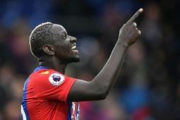 Mamadou Sakho í leik með Crystal Palace.
