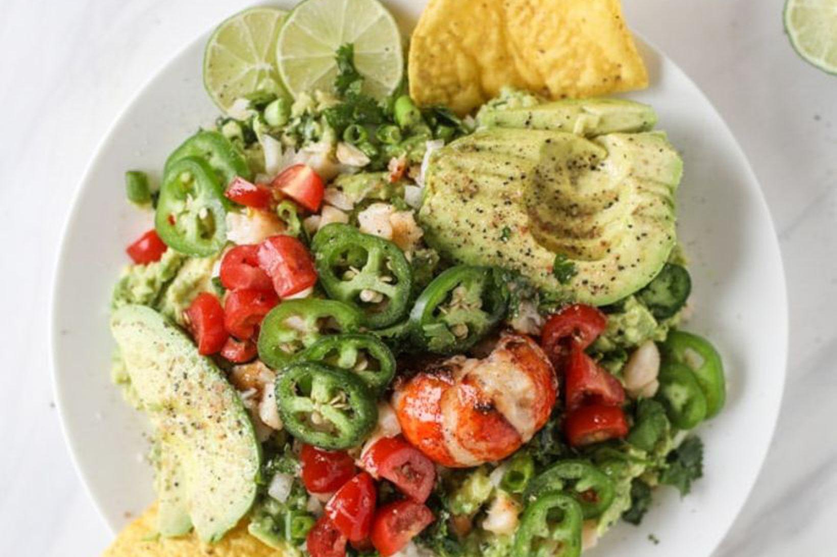 Humar, guacamole og nachos flögur – er hægt að biðja …