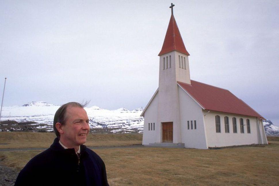 Gunnlaugur Stefánsson prestur í Heydölum er formaður Veiðifélags Breiðdæla. Hann ...