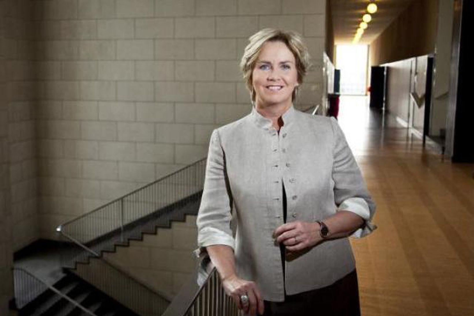 Kristín Ingólfsdóttir, rektor Háskóla Íslands.