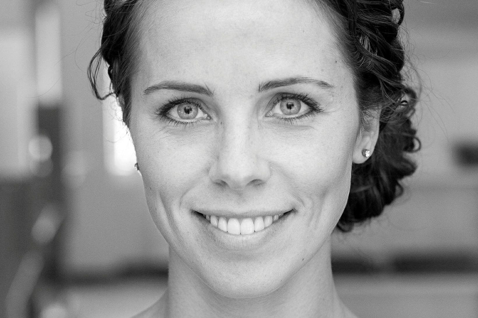 Ingunn Sigurpálsdóttir markaðsfulltrúi hjá bpro hugsar vel um sig.