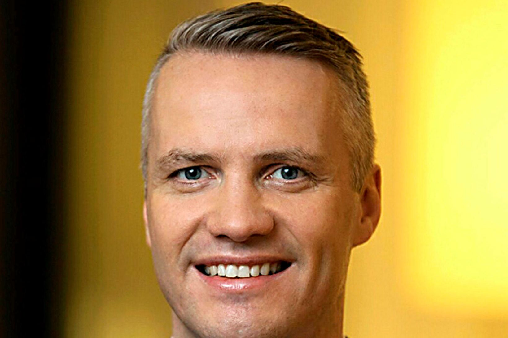 Pétur Hafsteinsson, fráfarandi fjármálastjóri Festar.