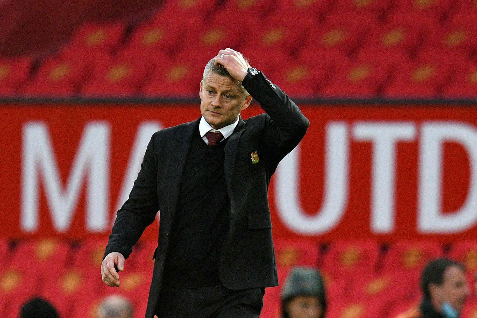 Ole Gunnar Solskjær hefur stýrt liði Manchester United frá árinu …
