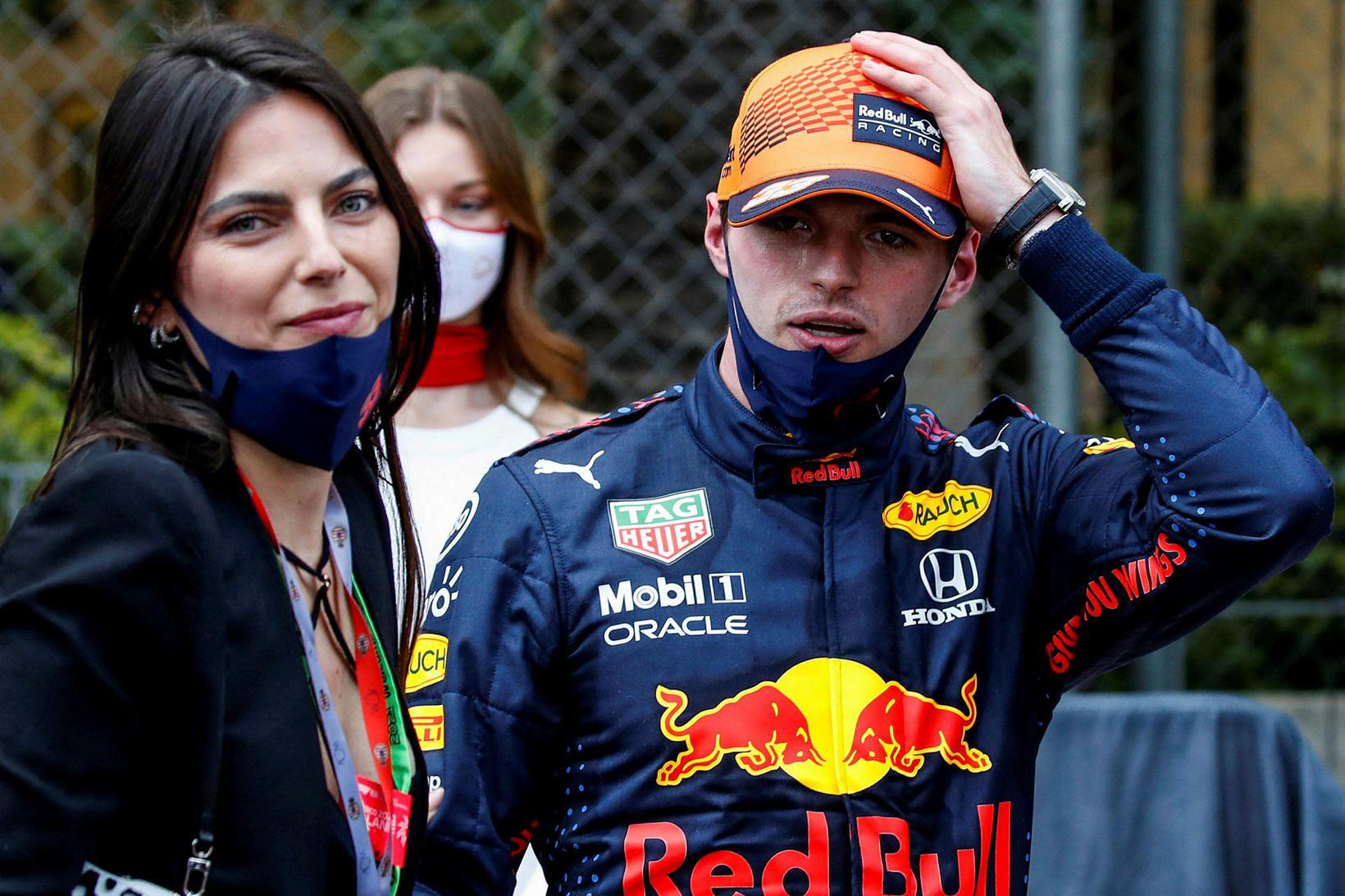Unnusta Max Verstappen, Kelly Piquet, tók á móti honum á …
