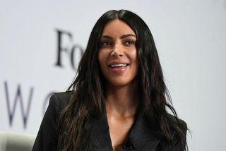 Kim Kardashian.