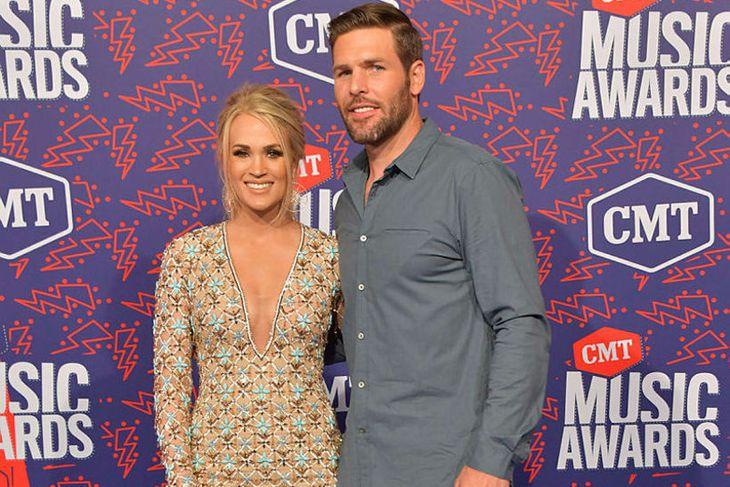Carrie Underwood og eiginmaður hennar Mike Fisher.