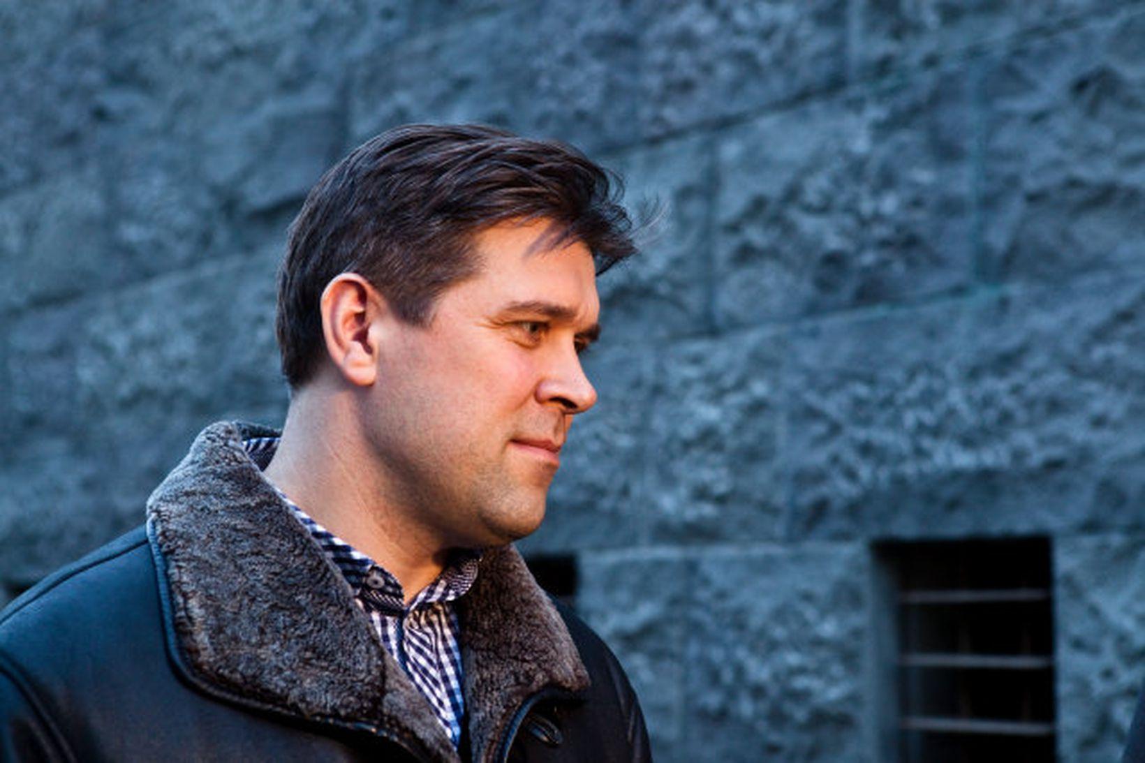 Bjarn i Benediktsson formaður Sjálfstæðisflokksins.
