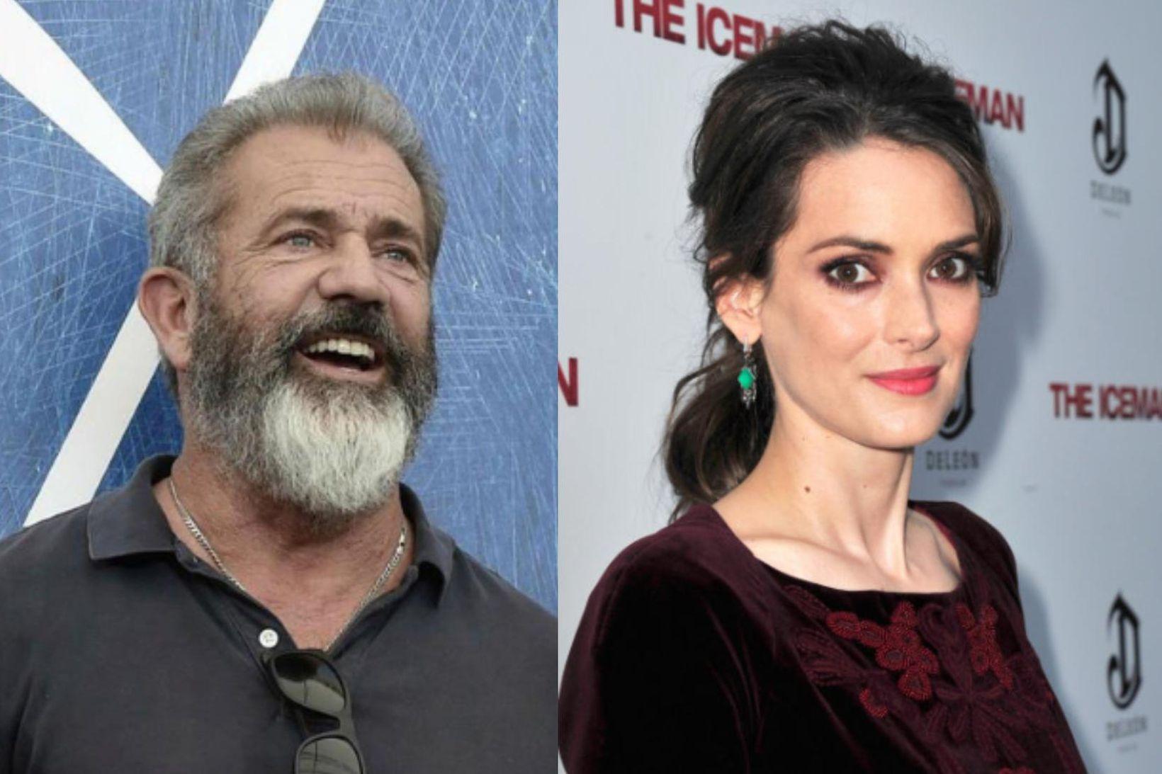 Mel Gibson neitar ásökunum Winonu Ryder.