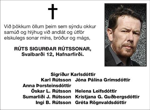 Rúts Sigurðar Rútssonar,