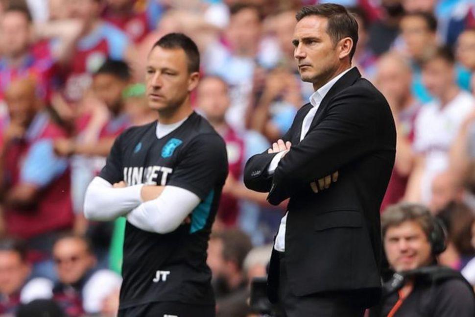 Terry og Lampard mættust í úrslitum umspilsins í B-deildinni á ...