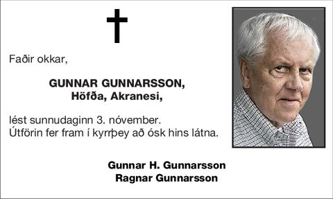 Gunnar Gunnarsson,