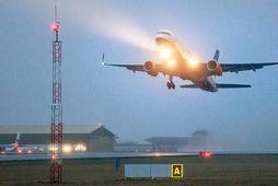 Icelandair aflýsti eða seinkaði öllum flugferðum dagsins.