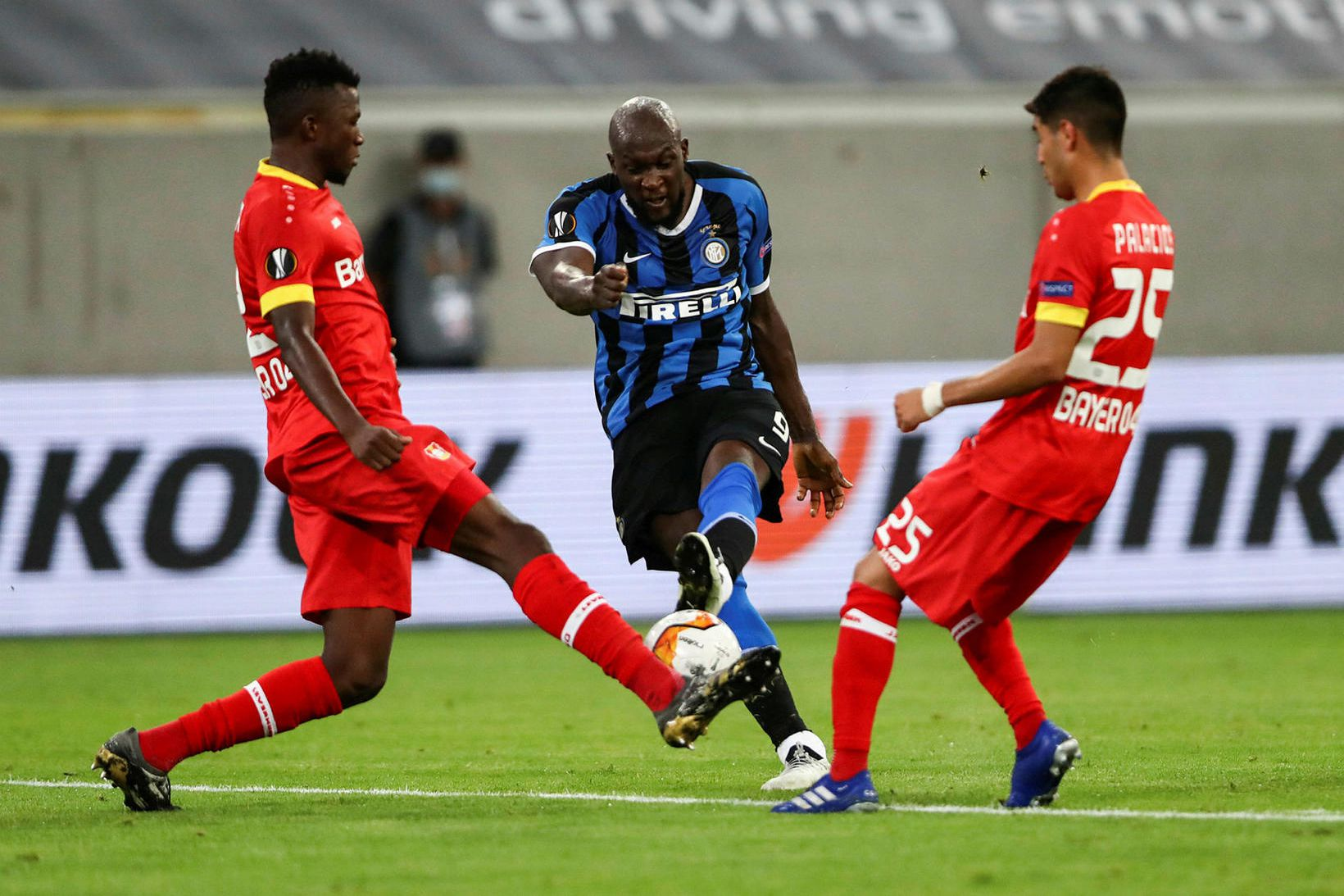 Romelu Lukaku skoraði annað mark Inter.