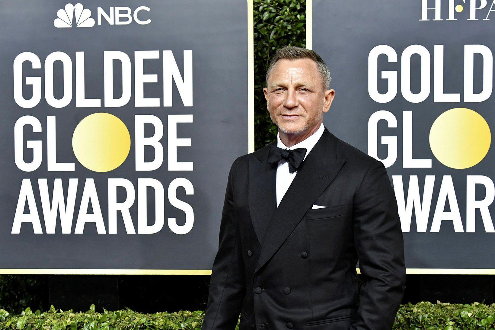 Daniel Craig leikur James Bond.