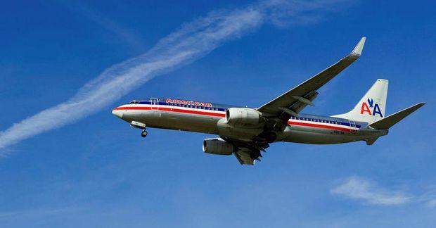 Atvikið átti sér stað hjá American Airlines.