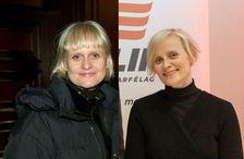 Ellen Loftsdóttir til vinstri og Sólveig Anna Jónsdóttir til hægri.