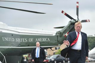 Donald Trump forseti Bandaríkjanna.