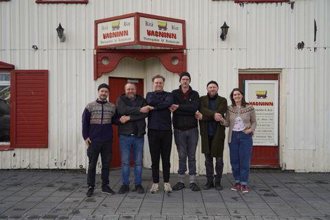 Hlynur Helgi Hallgrímsson, Geir Magnússon, Steinþór Helgi Arnsteinsson, Sindri Páll Kjartansson, Ásgeir Guðmundsson og Ragnheiður …
