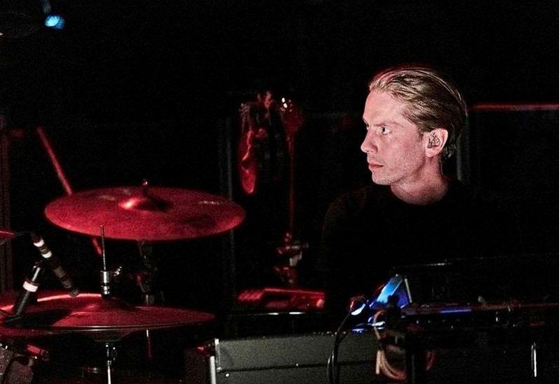 Orri Páll Dýrason, former drummer of Sigur Rós.