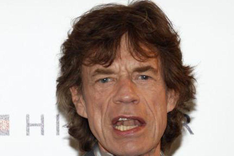 Mick Jagger er eitursvalur.