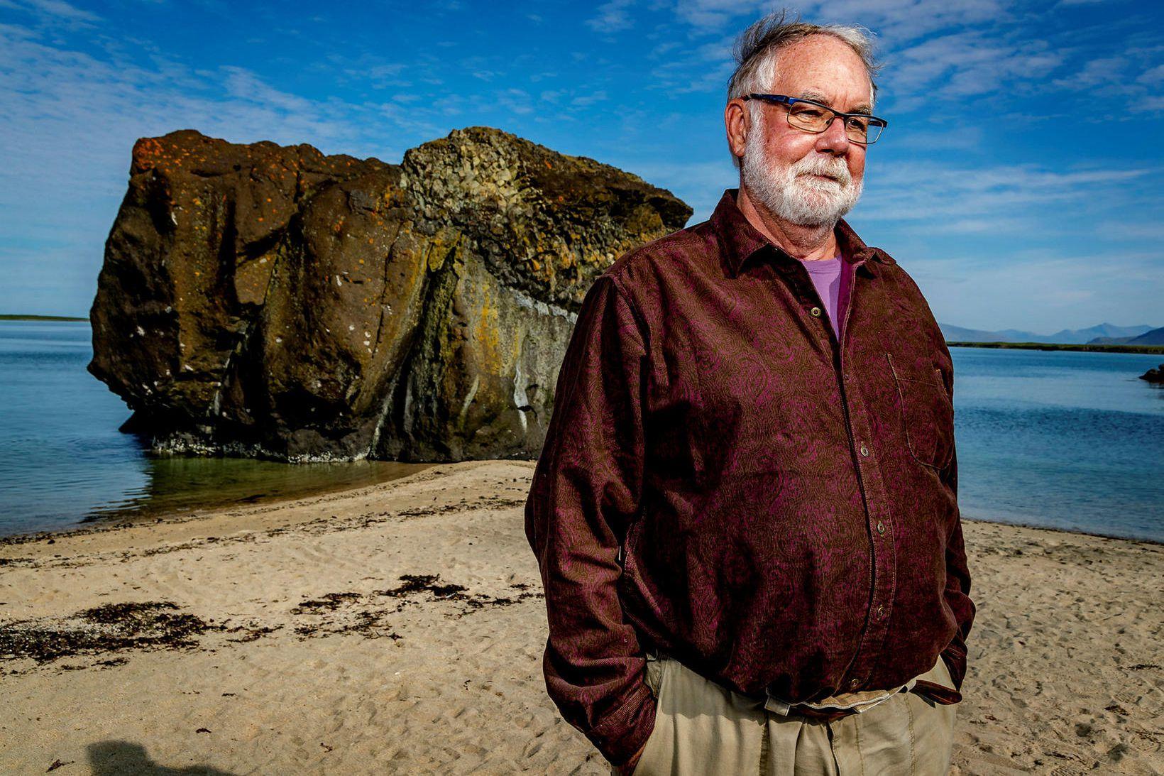 Herb Duerr, starfandi forstjóri St-Georges Eco-Mining.