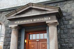 Héraðsdómur Reykjavíkur vísaði málunum frá á þriðjudaginn sl.