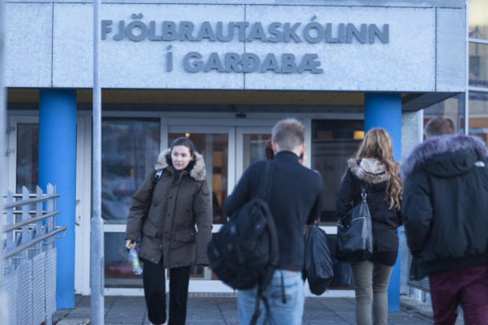 Fjölbrautaskólinn í Garðabæ. Mynd úr safni.