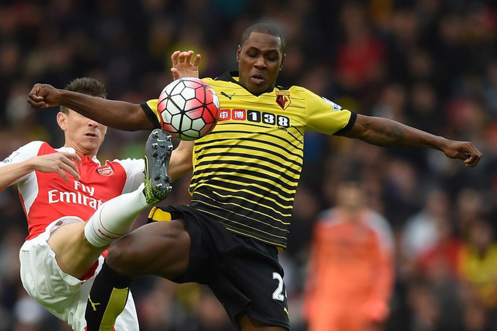 Odion Ighalo er kominn til Manchester United í láni frá …
