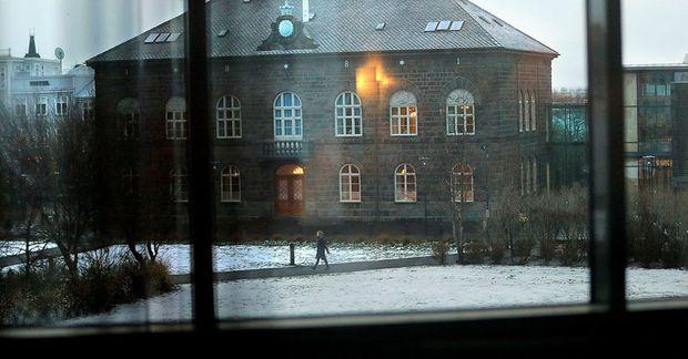 Gunnar Smári hreinsaði hljóðið upptökunni til að betur mætti greina það.
