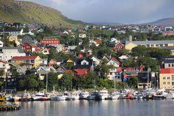 Þórshöfn, höfuðstaður Færeyja.