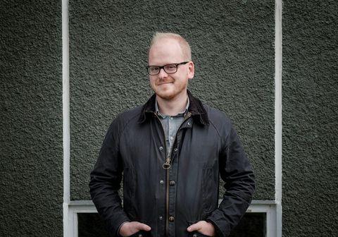 Ævar Þór Benediktsson rithöfundur.