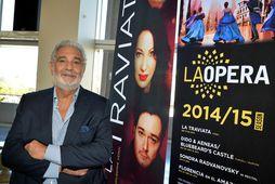 Placido Domingo tók þátt í stofna Los Angeles-óperuna og hafði starfað sem stjórnandi hennar frá ...