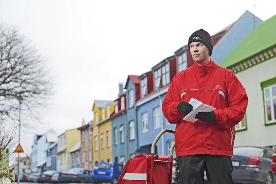 Íslandspóstur vill hærri burðargjöld fyrir bréf.
