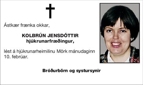 Kolbrún Jensdóttir