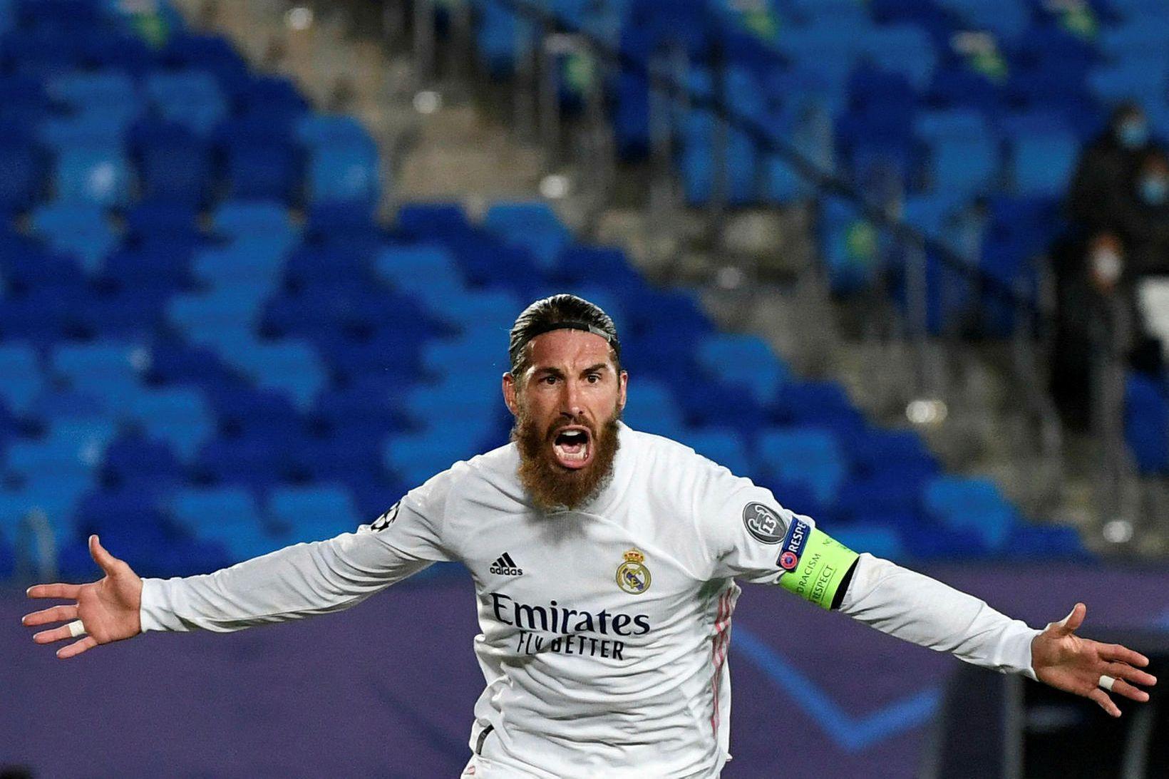 Sergio Ramos hefur verið sterklega orðaður við félög í ensku …