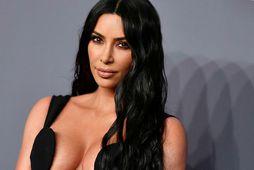 Kim Kardashian West var 14 ára þegar fyrstu réttarhöldin fóru fram.