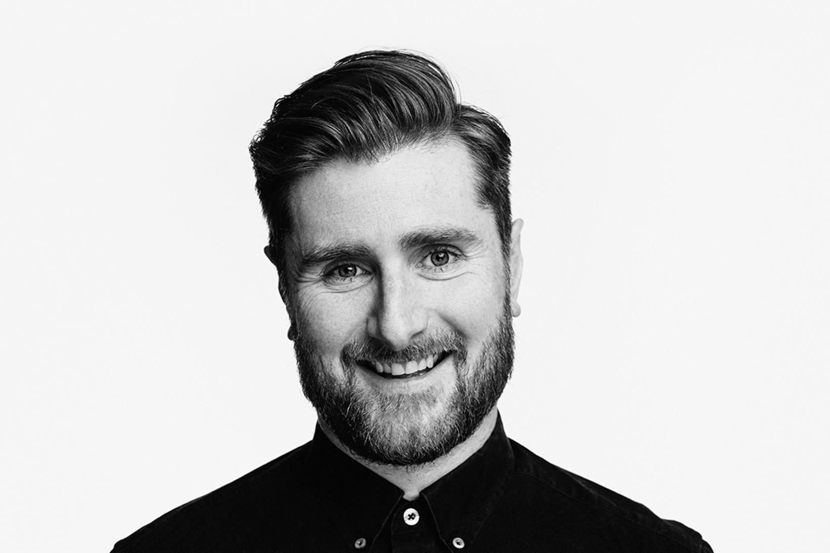 Hrafn Gunnarsson hugmynda- og hönnunarstjóri á auglýsingastofunni Brandenburg.
