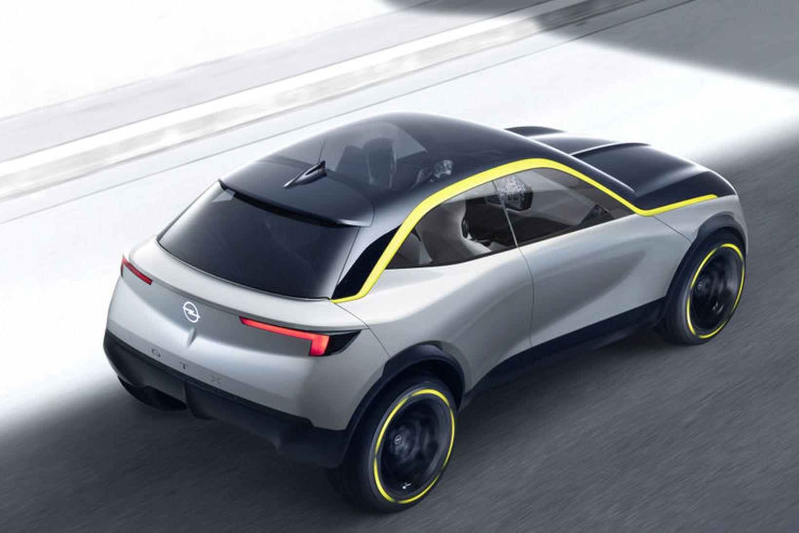 Nýr Opel Corsa sem væntanlegur er á næsta ári er …