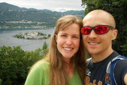 Esther Dingley og Dan Colegate.