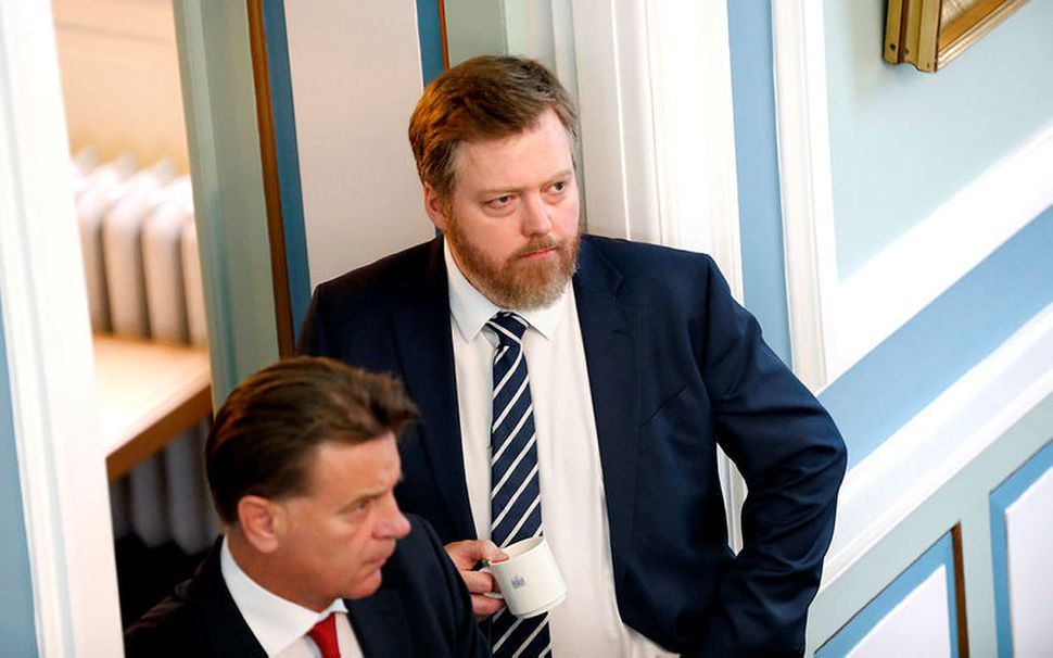 Sigmundur Davíð Gunnlaugsson, formaður Miðflokksins, segir málinu ekki lokið með ...