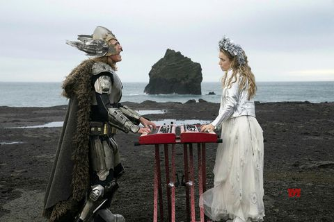 Will Ferrell and Rachel McAdams singing their heart out in Iceland.