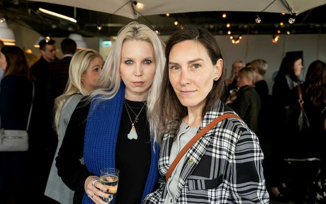 Andrea Maack og Anna Clausen.