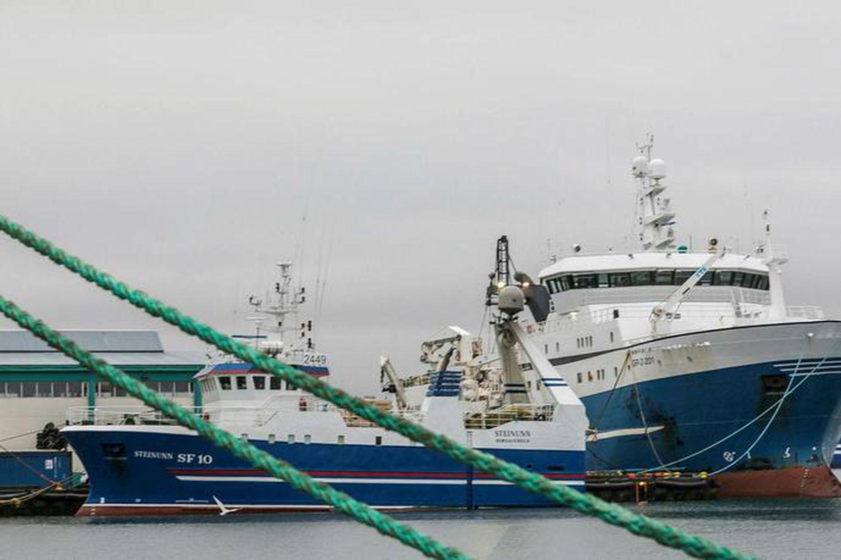 Heildarafli íslenskra fiskiskipa jókst um 9% í september en verð …
