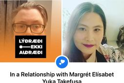 Eyþór Árni Úlfarsson og Margrét Elísabet Yuka Takefusa skráðu sig í samband á dögunum.