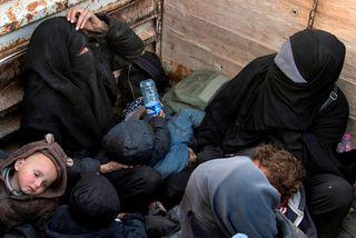 Tvær franskar konur sem fóru til Sýrlands en vilja komast heim aftur.