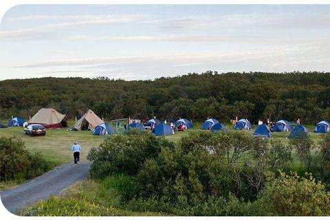 Lundur Camping site