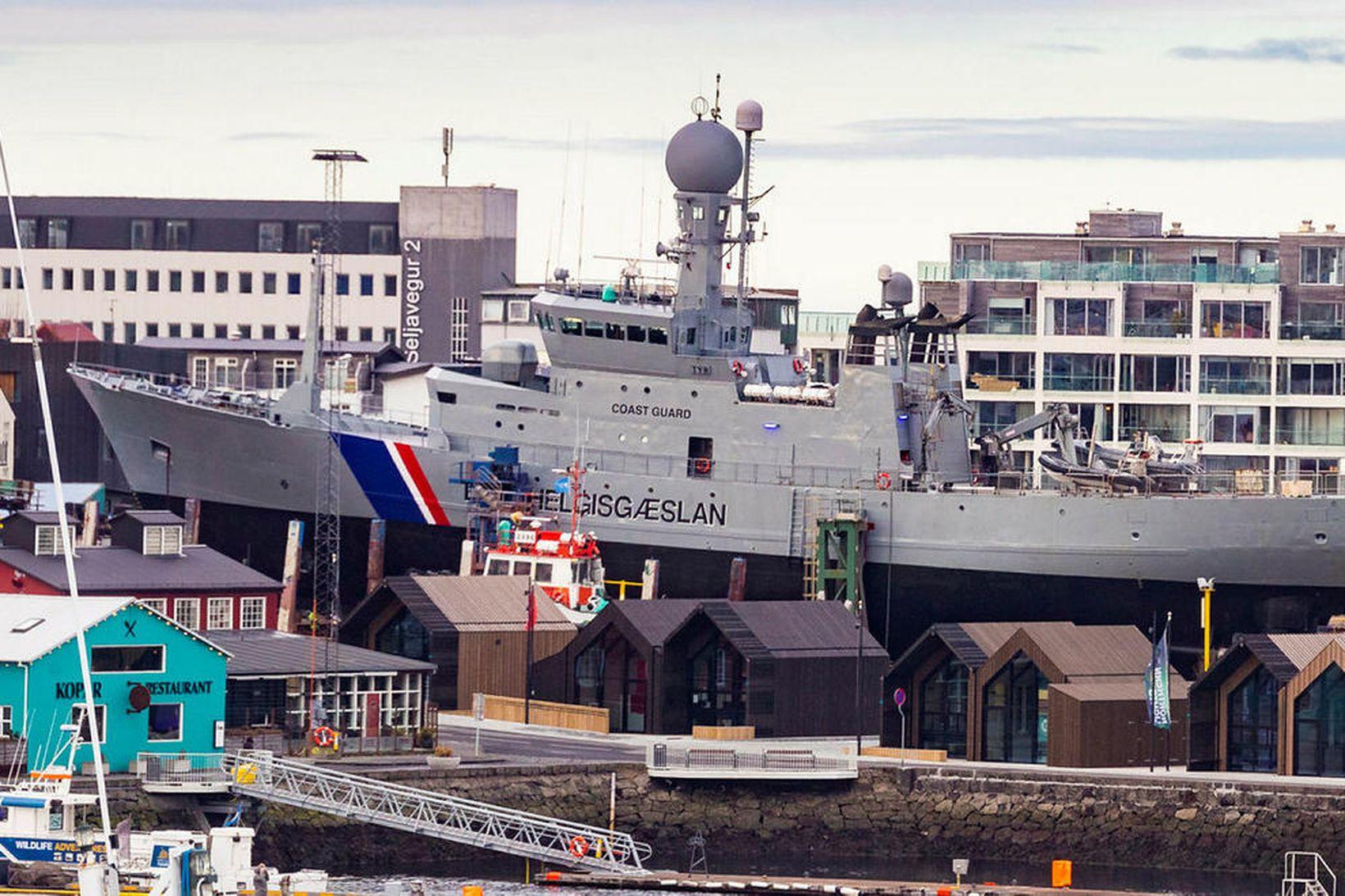 Varðskipið Týr hefur verið í Slippnum í Reykjavík að undanförnu. …