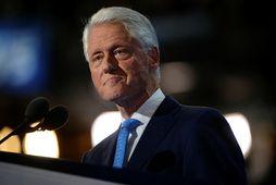 Bill Clinton hefur legið á sjúkrahúsi í fjórar nætur með sýkingu.