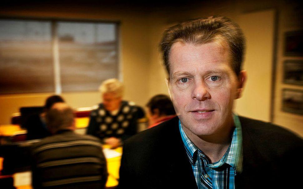 Magnús Ingvason skólameistari Fjölbrautaskólans við Ármúla.